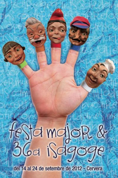cartell Festa Major de Cervera - Cervera