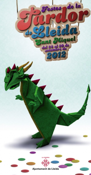 cartell Festes de la Tardor: actuacions musicals - Lleida