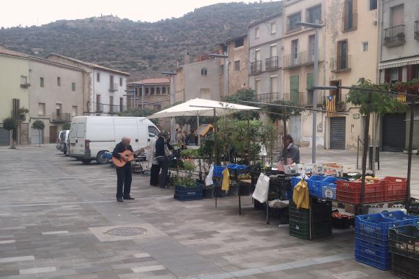 12.10.2012 Mercat setmanal  Torà -  Ramon Sunyer