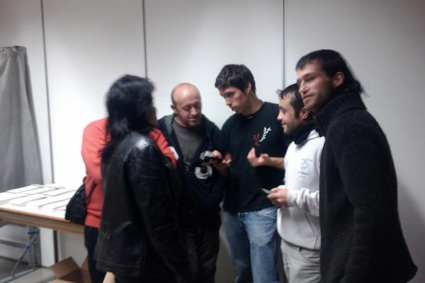 26.11.2012 Eleccions al Parlament, públic  -  Ramon Sunyer