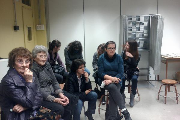 26.11.2012 Eleccions al Parlament, públic  Torà -  Ramon Sunyer