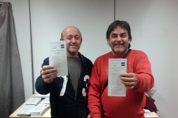 26.11.2012 Eleccions al Parlament, l'escrutini  Torà -  Ramon Sunyer