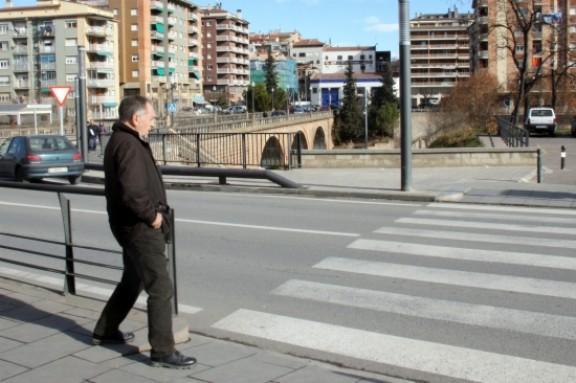 Alsina a la sortida de declarar del Jutjat de Solsona -