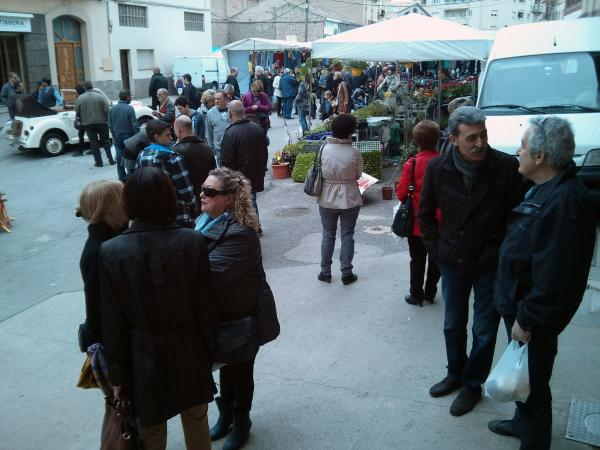 29.03.2013 zona de la plaça de la creu  Torà -  Ramon Sunyer