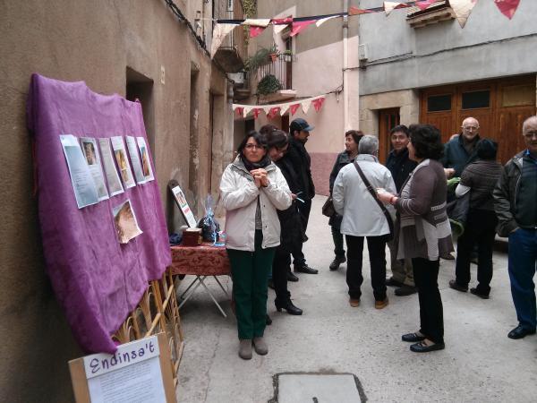29.03.2013 Grup per la recuperació del camí de l'Aguda  Torà -  Ramon Sunyer