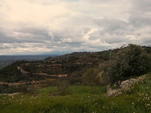 01.04.2013 Vista cap al Montsec  L'Aguda -  Ramon Sunyer