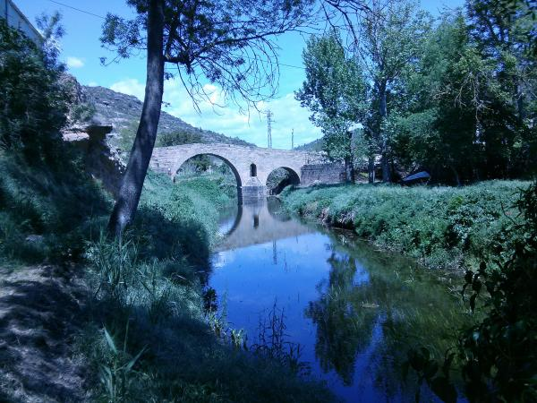 05.05.2013 El pont de les Marites, el més gran de la vall del Llobregós  Torà -  Ramon Sunyer