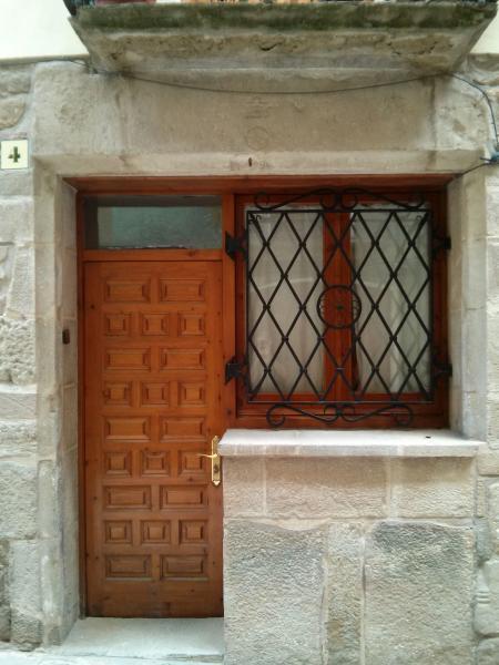 Detall d'antiga botiga jueva - Torà