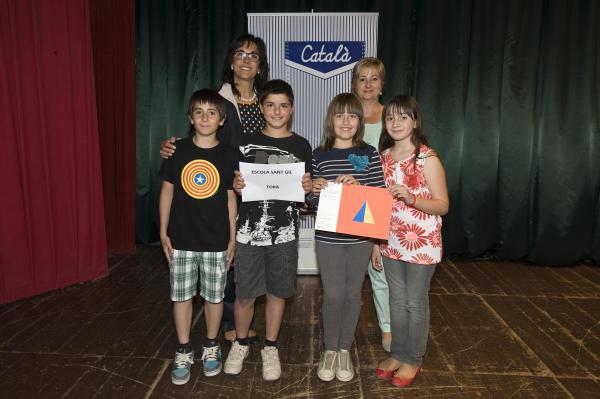 17.06.2013 Alumnes del CEIP Sant Gil reben el premi  Espluga de Francolí -  Premis Baldiri Reixac