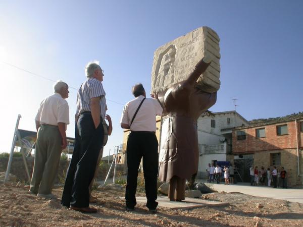 Acte d'inauguració del monument a la música - Torà