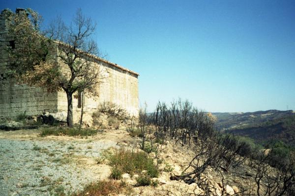 18.09.1998 L'ermita de sant Salvador  L'Aguda -  Ramon Sunyer