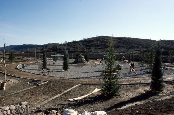 08.08.2013 Construcció del parc anys 80  Torà -  Ramon Sunyer