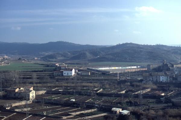 08.08.2013 Vista de la zona de les casetes anys 80  Torà -  Ramon Sunyer