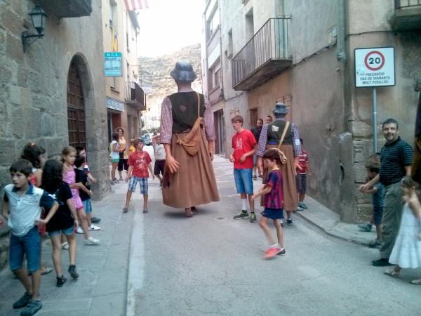 01.09.2013 Cercavila amb els gegants  Torà -  Ramon Sunyer