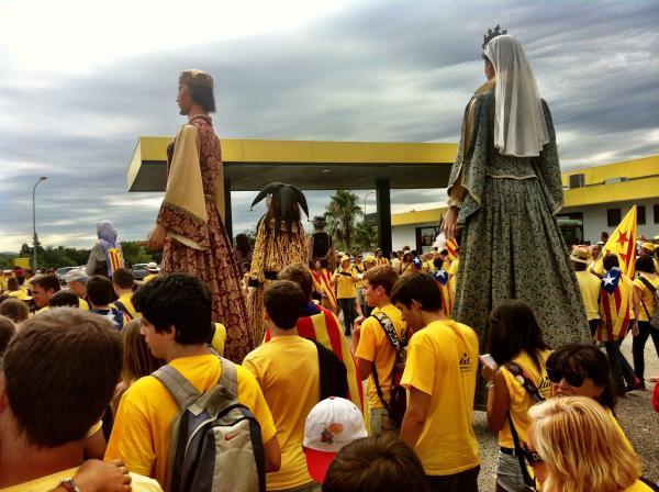 11.09.2013 gegants fent via  -  elena