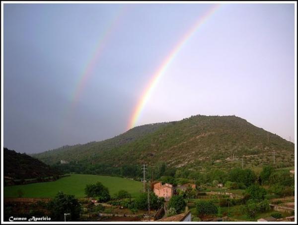 15.09.2013 Vista dels horts, des de la meva finestra  Torá -  Carmen Aparicio