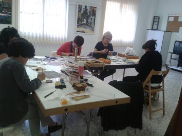 15.09.2013 Curs de dibuix i pintura  Torà -  Carmen Aparicio