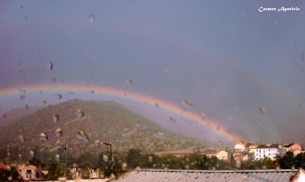 16.09.2013 Arc de Sant Martí des de darrere de la meva finestra  -  Carmen Aparicio