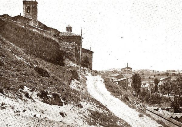 20.09.2013 El camí del cementiri  Torà -  Carmen Aparicio