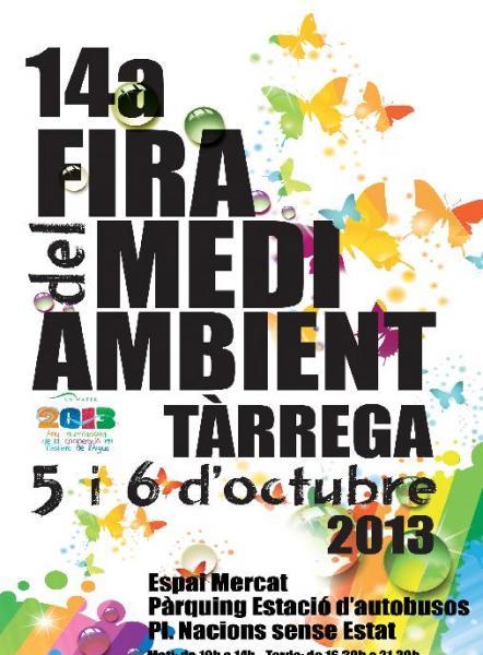 cartell 14a fira medi ambient