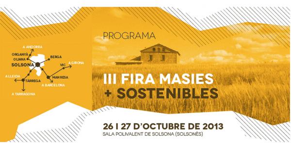 cartell III Fira Masies + Sostenibles