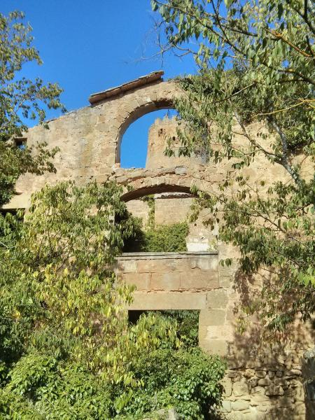 Restes de l'antic nucli Foto: Ramon Sunyer - Vallferosa