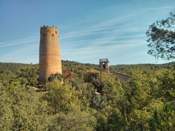 28.10.2013 Al voltant del 970 es construí una primera torre circular   Vallferosa -  Ramon Sunyer
