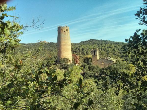 la torre medieval més interessant i extraordinària de Catalunya Foto: Ramon Sunyer - Vallferosa
