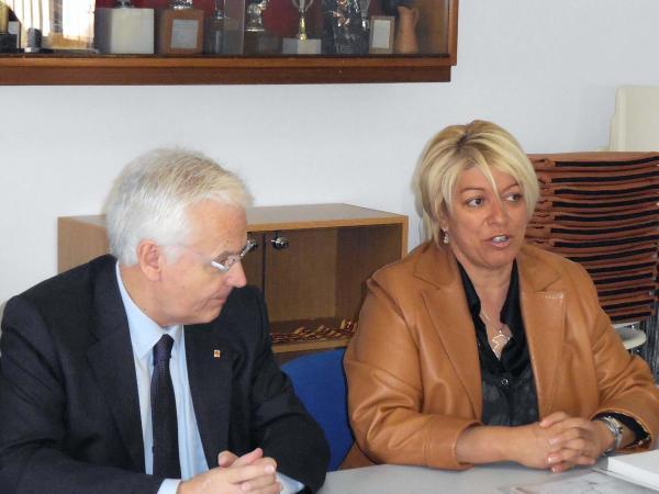 Visita del conseller de cultura Ferran Mascarrell a Torà - Torà