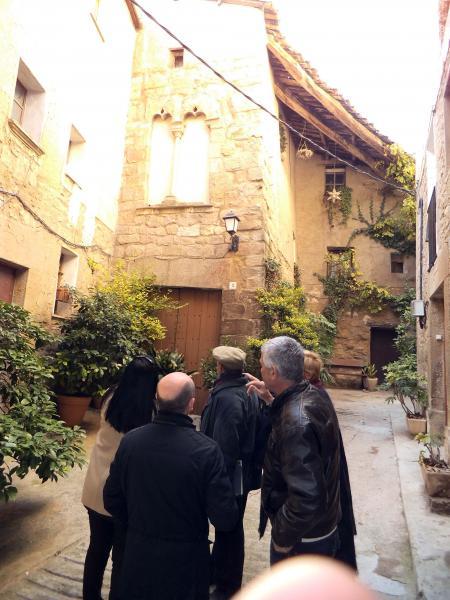 Visita del director dels serveis territorial d'Empresa i Ocupació a Lleida