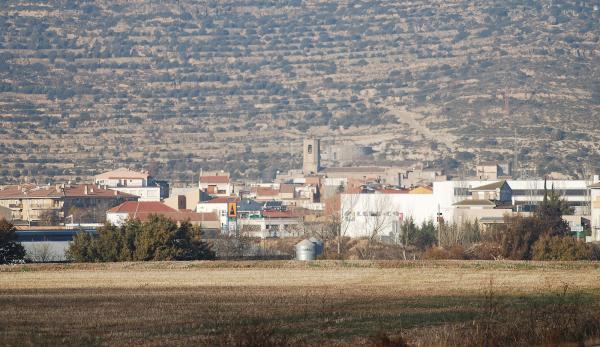 15.12.2013 Vista de la vila  Torà -  Ramon Sunyer