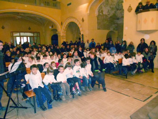 13.12.2013 Concert de Nadal dels alumnes de l'escola sant Gil  Torà -  CC Segarra