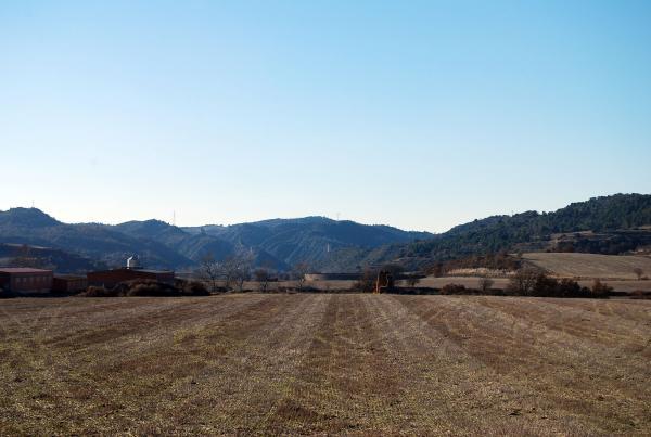 30.12.2013 Vista de Castellfollit  Enfesta -  Ramon Sunyer