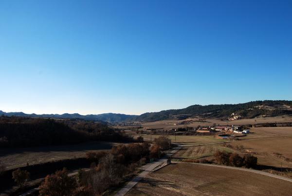 30.12.2013 Vista de la vall  Enfesta -  Ramon Sunyer