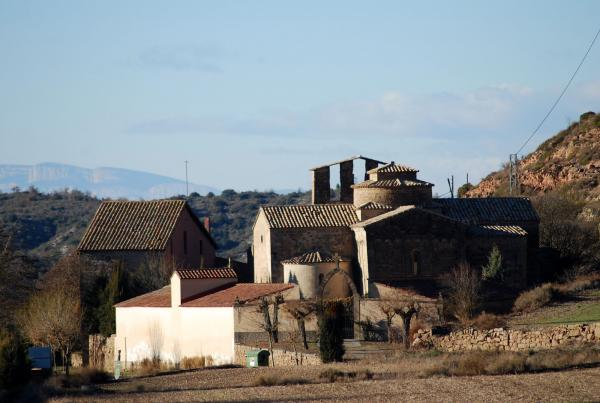 30.12.2013 Priorat de Santa Maria  Castellfollit de Riubregós -  Ramon Sunyer