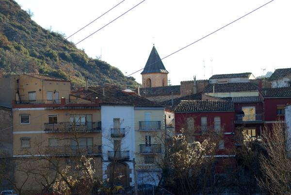 30.12.2013 Detall del poble  Castellfollit de Riubregós -  Ramon Sunyer