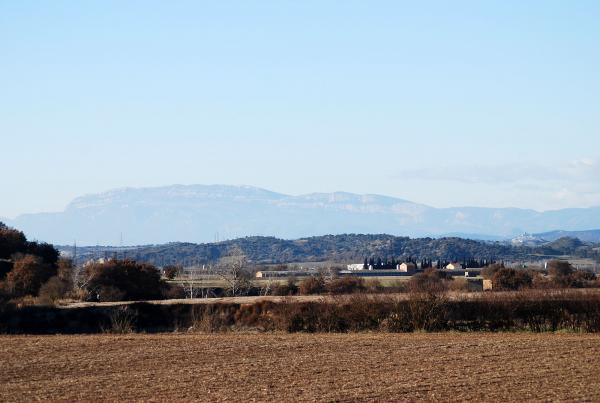 30.12.2013 Vista de la vall  Castellfollit de Riubregós -  Ramon Sunyer