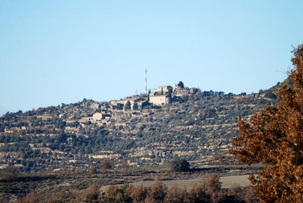 30.12.2013 Vista del poble  L'Aguda -  Ramon Sunyer