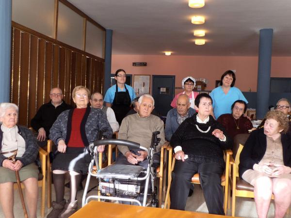 Festa de Nadal a la Residència d'avis - Torà