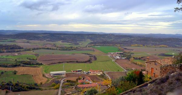 18.11.2012 Vista de la vall del LLobregós  Ribelles -  Àngela Llop
