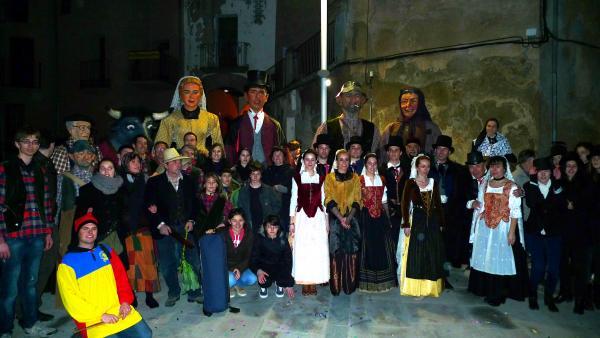 22.02.2014 Foto de grup  Torà -  Xavi