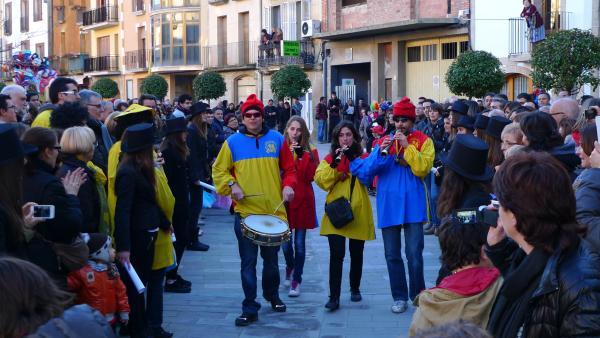 22.02.2014 Grallers de Torà  Torà -  Xavi
