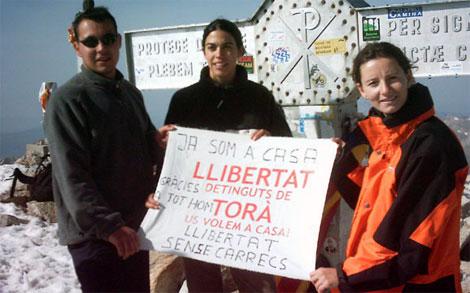 Grup de suport al cim de l'Aneto -