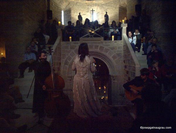 01.06.2014 Lidia Pujol a Cellers ( Monestir )  Cellers -  Josep Gatnau