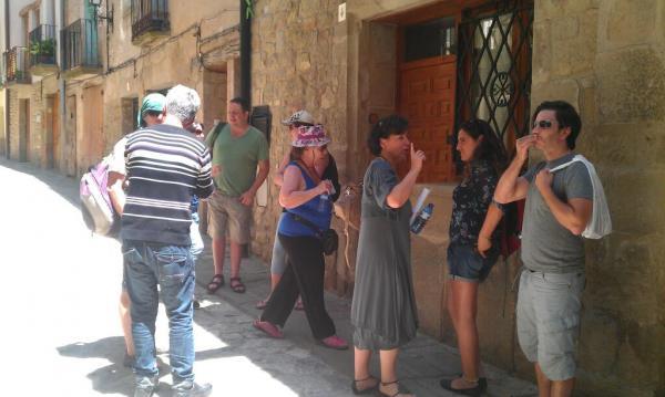 Tour Operadors Israelians visiten el Call Jueu de Torà - Torà