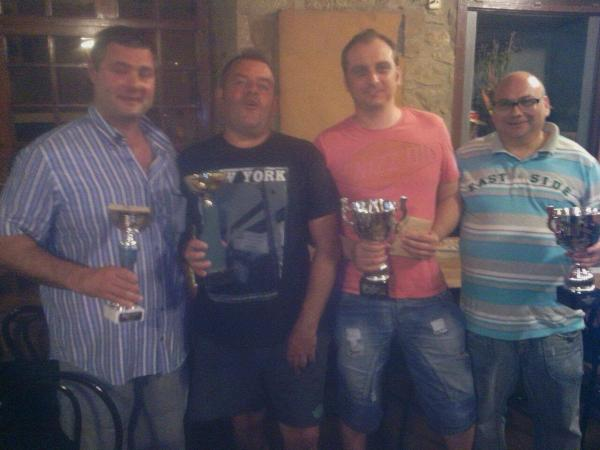 30.08.2014 Finalistes campionat botifarra  -  Ramon Sunyer