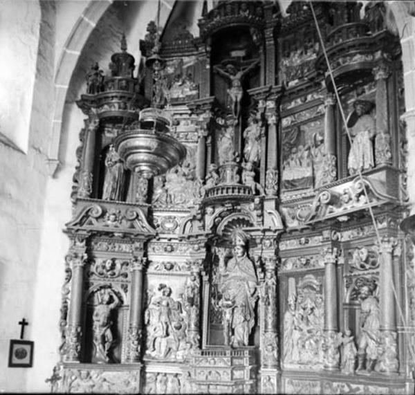 19.09.1912 Retaule de l'església de Santa Maria de Llanera  Llanera -  Cèsar August Torras