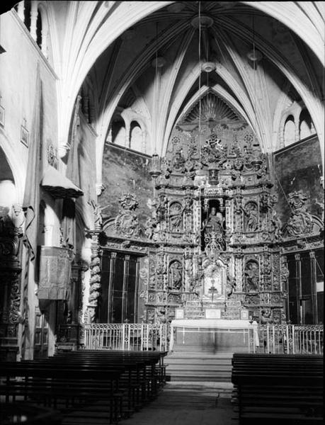 Church of  Sant Gil - Author Francesc Blasi i Vallespi (1920)