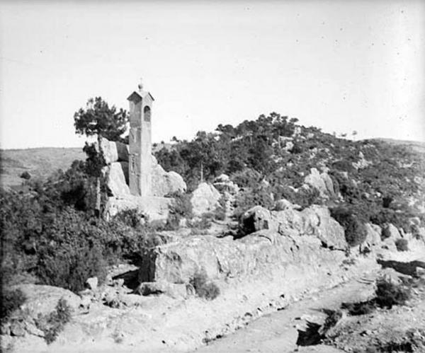 19.09.1912 Oratori al costat d'un camí al terme de Torà  -  Cèsar August Torras