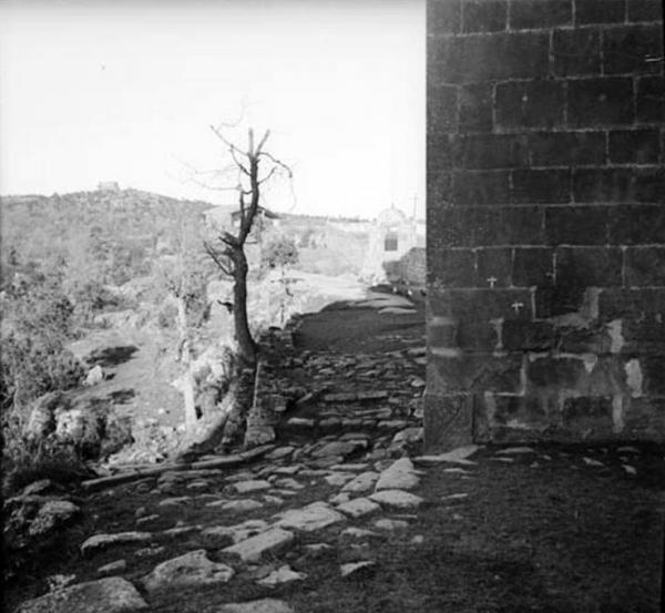 19.09.1912 Vista parcial de Santa Maria de Llanera  Llanera -  Cèsar August Torras